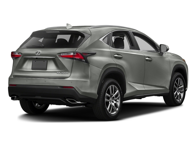 Atomic Silver 2016 Lexus NX 200t Pictures NX 200t Utility 4D NX200t 2WD I4 Turbo photos rear view