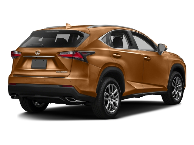 Autumn Shimmer 2016 Lexus NX 200t Pictures NX 200t Utility 4D NX200t 2WD I4 Turbo photos rear view