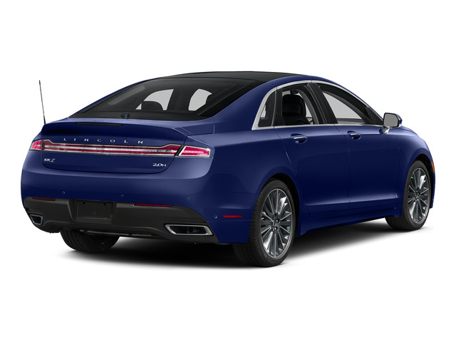 Notorious 2016 Lincoln MKZ Pictures MKZ Sedan 4D Black Label I4 Hybrid photos rear view