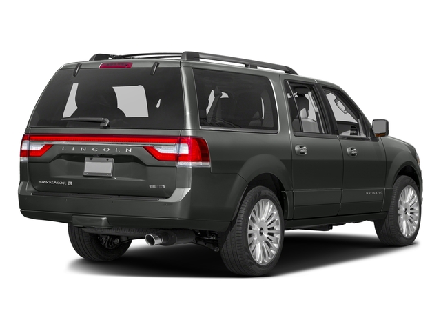 Magnetic Metallic 2016 Lincoln Navigator L Pictures Navigator L Utility 4D Select 2WD V6 Turbo photos rear view
