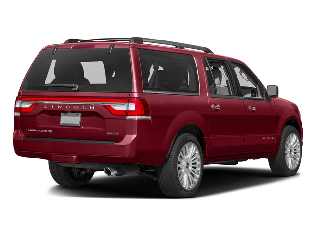Ruby Red Metallic Tinted Clearcoat 2016 Lincoln Navigator L Pictures Navigator L Utility 4D Select 2WD V6 Turbo photos rear view