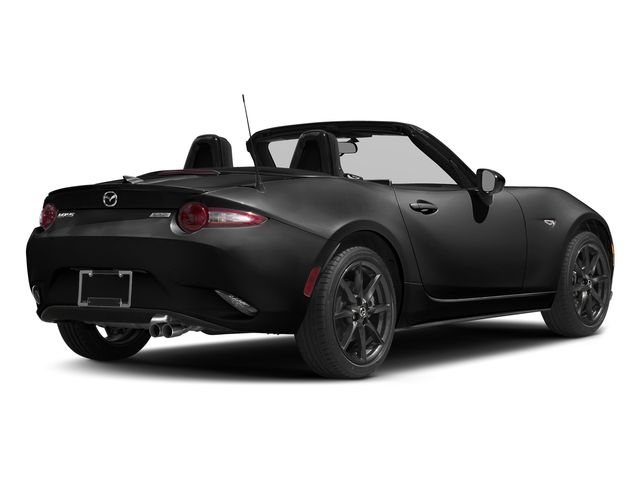 Jet Black Mica 2016 Mazda MX-5 Miata Pictures MX-5 Miata Convertible 2D Club I4 photos rear view