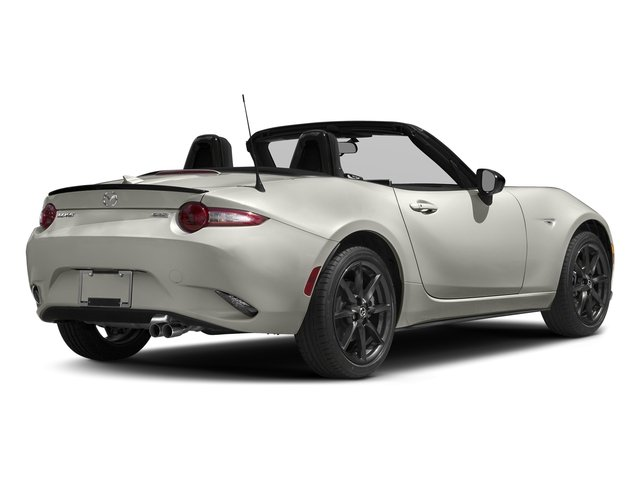 Ceramic Metallic 2016 Mazda MX-5 Miata Pictures MX-5 Miata Convertible 2D Club I4 photos rear view
