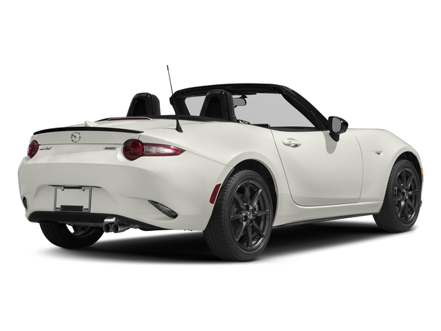 Arctic White 2016 Mazda MX-5 Miata Pictures MX-5 Miata Convertible 2D Club I4 photos rear view