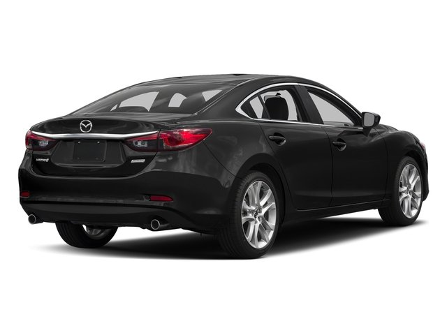 Jet Black Mica 2016 Mazda Mazda6 Pictures Mazda6 Sedan 4D i Touring I4 photos rear view