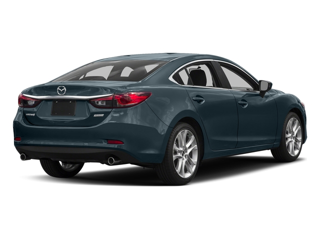 Blue Reflex Mica 2016 Mazda Mazda6 Pictures Mazda6 Sedan 4D i Touring I4 photos rear view