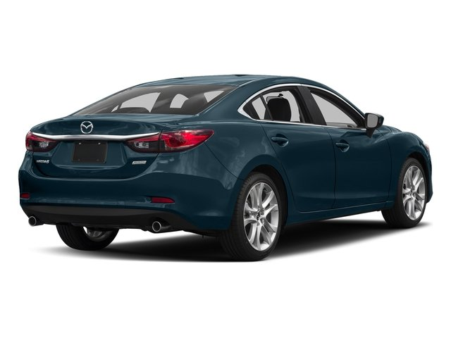 Deep Crystal Blue 2016 Mazda Mazda6 Pictures Mazda6 Sedan 4D i Touring I4 photos rear view
