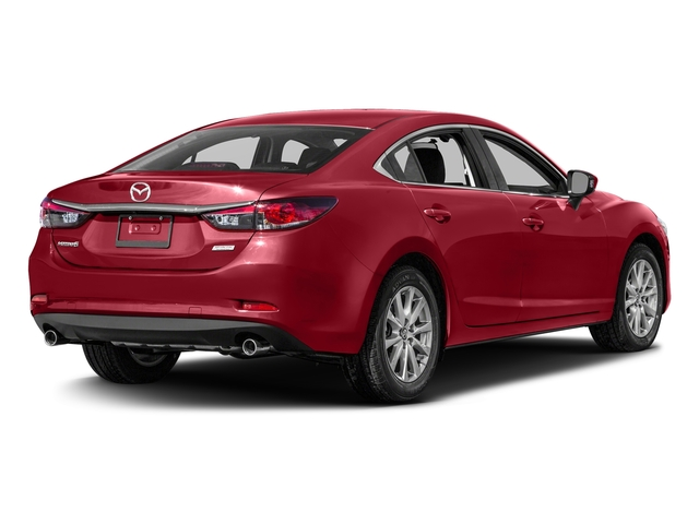 Soul Red Metallic 2016 Mazda Mazda6 Pictures Mazda6 Sedan 4D i Sport I4 photos rear view