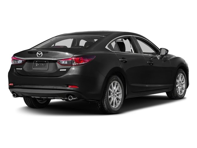 Jet Black Mica 2016 Mazda Mazda6 Pictures Mazda6 Sedan 4D i Sport I4 photos rear view