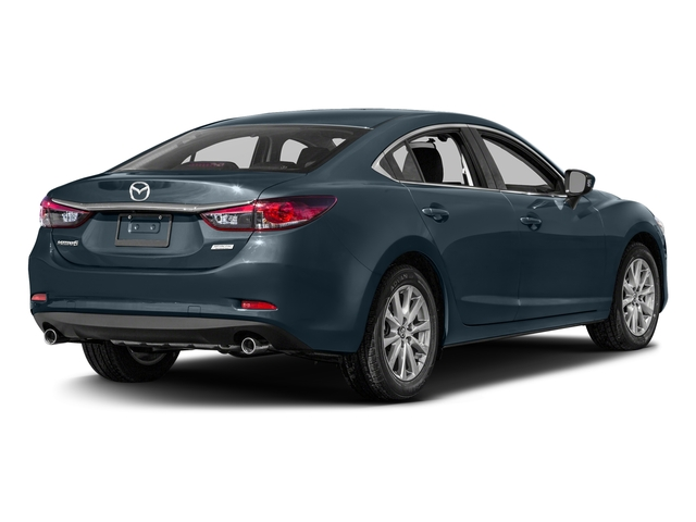 Blue Reflex Mica 2016 Mazda Mazda6 Pictures Mazda6 Sedan 4D i Sport I4 photos rear view