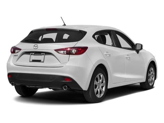 Snowflake White Pearl Mica 2016 Mazda Mazda3 Pictures Mazda3 Wagon 5D i Sport I4 photos rear view