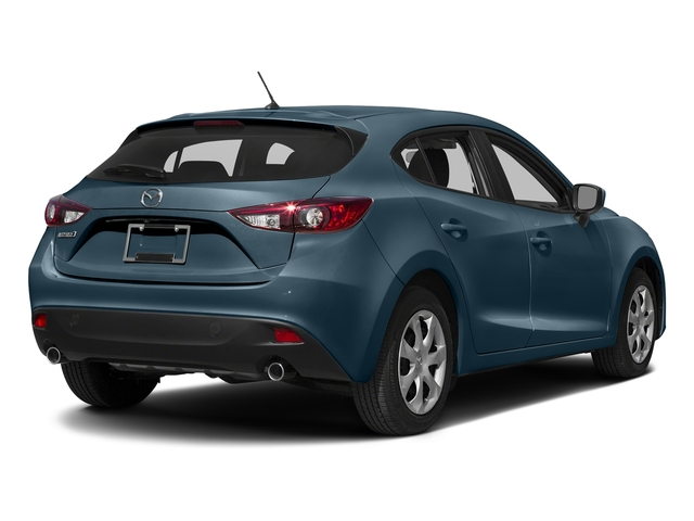 Deep Crystal Blue Mica 2016 Mazda Mazda3 Pictures Mazda3 Wagon 5D i Sport I4 photos rear view