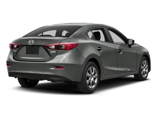 Liquid Silver Metallic 2016 Mazda Mazda3 Pictures Mazda3 Sedan 4D i Sport I4 photos rear view