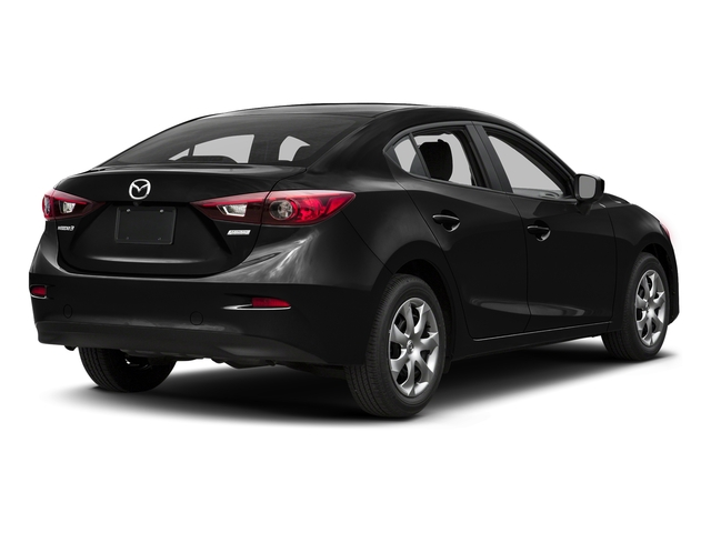 Jet Black Mica 2016 Mazda Mazda3 Pictures Mazda3 Sedan 4D i Sport I4 photos rear view