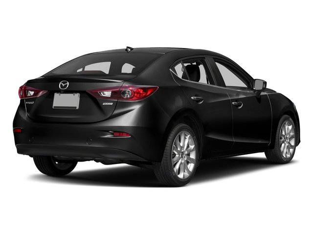 Jet Black Mica 2016 Mazda Mazda3 Pictures Mazda3 Sedan 4D s Touring I4 photos rear view