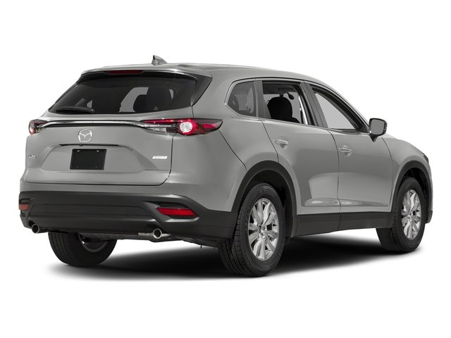 Sonic Silver Metallic 2016 Mazda CX-9 Pictures CX-9 Utility 4D Sport 2WD I4 photos rear view