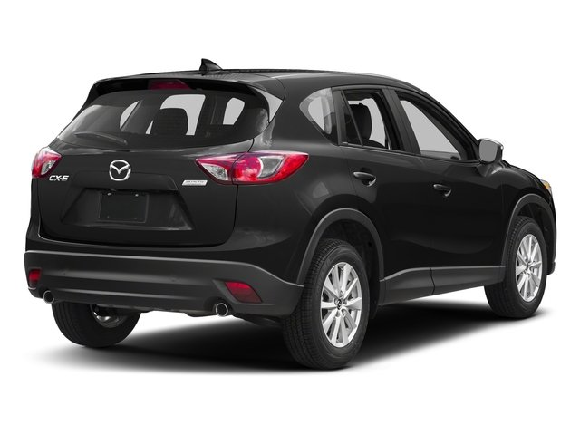 Jet Black Mica 2016 Mazda CX-5 Pictures CX-5 Utility 4D Sport 2WD I4 Manual photos rear view