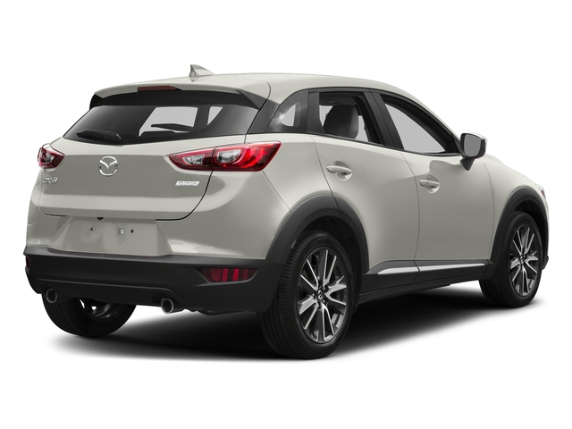 Ceramic Silver Metallic 2016 Mazda CX-3 Pictures CX-3 Utility 4D GT AWD I4 photos rear view
