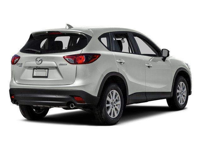 Crystal White Pearl Mica 2016 Mazda CX-5 Pictures CX-5 Utility 4D Touring AWD I4 photos rear view
