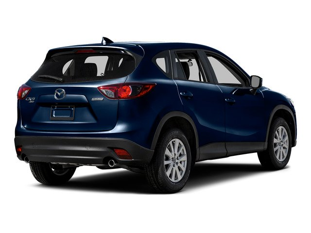 Deep Crystal Blue Mica 2016 Mazda CX-5 Pictures CX-5 Utility 4D Touring AWD I4 photos rear view