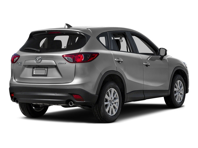 Sonic Silver Metallic 2016 Mazda CX-5 Pictures CX-5 Utility 4D Touring AWD I4 photos rear view