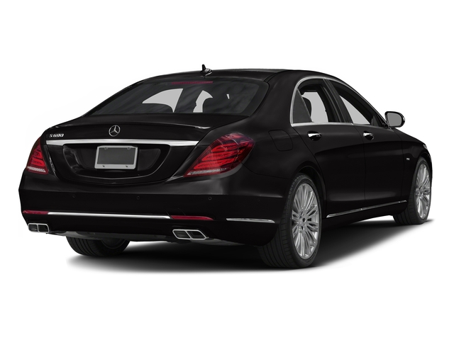 designo Mocha Black 2016 Mercedes-Benz S-Class Pictures S-Class Sedan 4D S600 V12 Turbo photos rear view