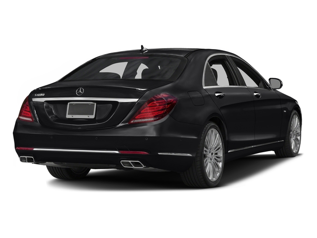 Black 2016 Mercedes-Benz S-Class Pictures S-Class Sedan 4D S600 V12 Turbo photos rear view