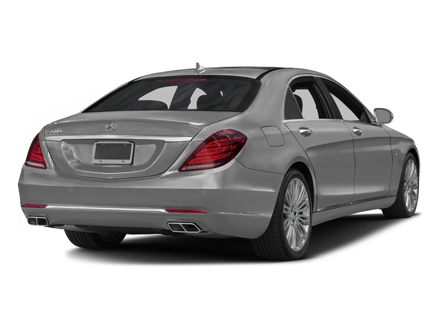 designo Magno Alanite Gray (Matte Finish) 2016 Mercedes-Benz S-Class Pictures S-Class Sedan 4D S600 V12 Turbo photos rear view