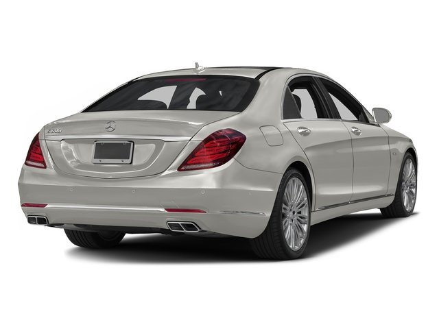 designo Magno Cashmere White (Matte Finish) 2016 Mercedes-Benz S-Class Pictures S-Class Sedan 4D S600 V12 Turbo photos rear view