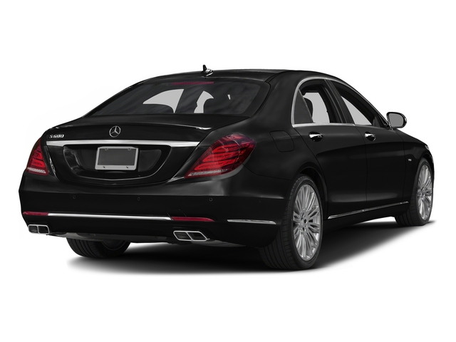 Obsidian Black Metallic 2016 Mercedes-Benz S-Class Pictures S-Class Sedan 4D S600 V12 Turbo photos rear view