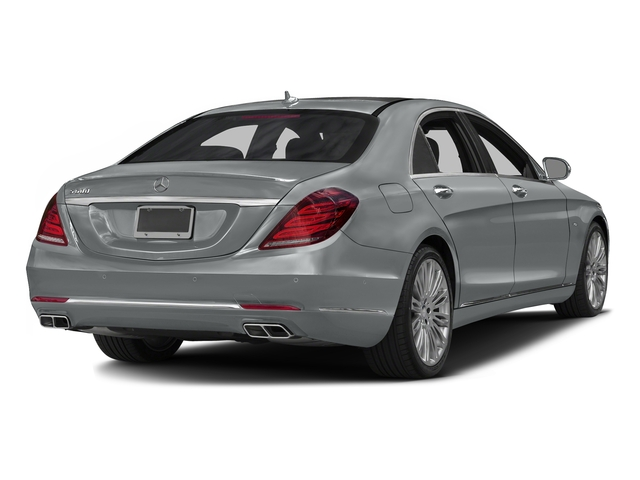 Iridium Silver Metallic 2016 Mercedes-Benz S-Class Pictures S-Class Sedan 4D S600 V12 Turbo photos rear view