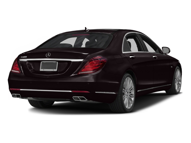 Ruby Black Metallic 2016 Mercedes-Benz S-Class Pictures S-Class Sedan 4D S600 V12 Turbo photos rear view