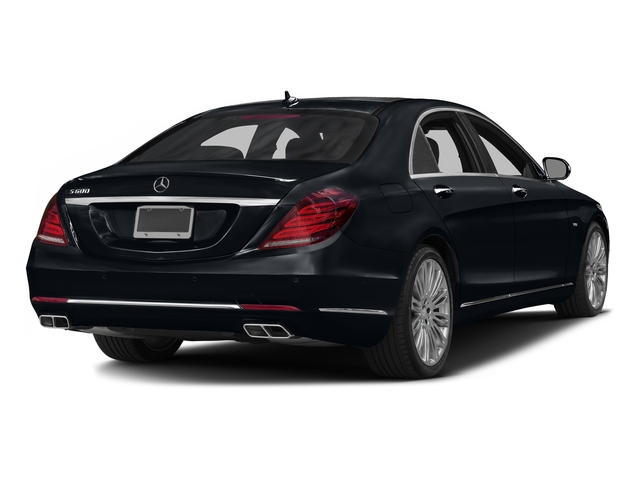 Anthracite Blue Metallic 2016 Mercedes-Benz S-Class Pictures S-Class Sedan 4D S600 V12 Turbo photos rear view