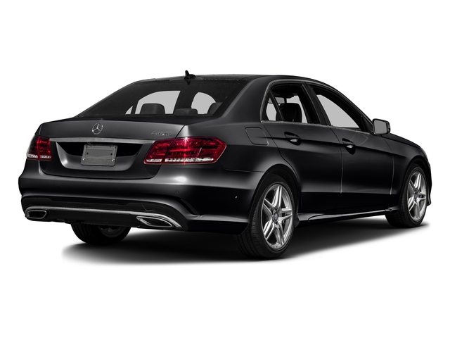 Black 2016 Mercedes-Benz E-Class Pictures E-Class Sedan 4D E350 V6 photos rear view