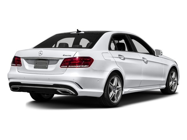 Polar White 2016 Mercedes-Benz E-Class Pictures E-Class Sedan 4D E350 V6 photos rear view