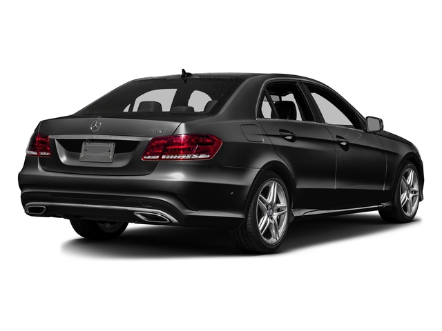 Obsidian Black Metallic 2016 Mercedes-Benz E-Class Pictures E-Class Sedan 4D E350 V6 photos rear view