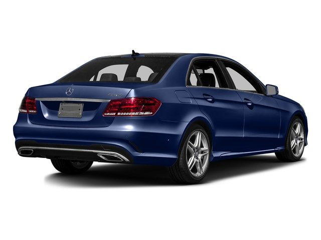 Indigo Blue Metallic 2016 Mercedes-Benz E-Class Pictures E-Class Sedan 4D E350 V6 photos rear view