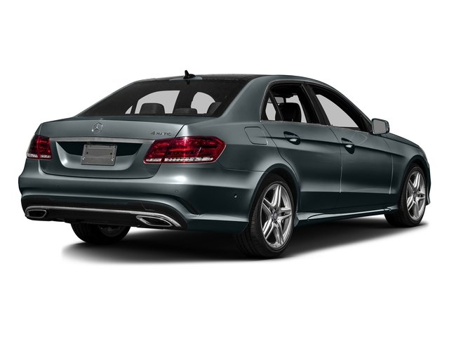 Steel Grey Metallic 2016 Mercedes-Benz E-Class Pictures E-Class Sedan 4D E350 V6 photos rear view