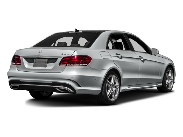 Iridium Silver Metallic 2016 Mercedes-Benz E-Class Pictures E-Class Sedan 4D E350 V6 photos rear view