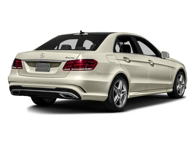 designo Diamond White Metallic 2016 Mercedes-Benz E-Class Pictures E-Class Sedan 4D E350 V6 photos rear view
