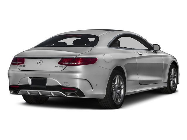 designo Magno Alanite Gray (Matte Finish) 2016 Mercedes-Benz S-Class Pictures S-Class Coupe 2D S550 AWD V8 Turbo photos rear view