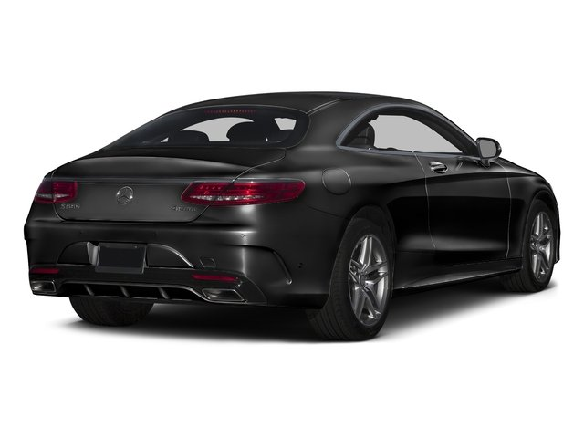 Obsidian Black Metallic 2016 Mercedes-Benz S-Class Pictures S-Class Coupe 2D S550 AWD V8 Turbo photos rear view