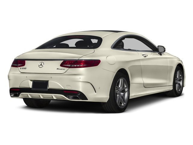 designo Diamond White 2016 Mercedes-Benz S-Class Pictures S-Class Coupe 2D S550 AWD V8 Turbo photos rear view