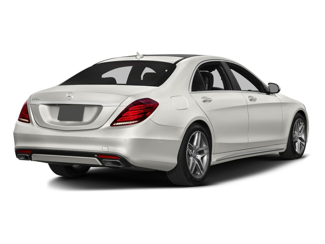 designo Magno Cashmere White (Matte Finish) 2016 Mercedes-Benz S-Class Pictures S-Class Sedan 4D S550 AWD V8 Turbo photos rear view
