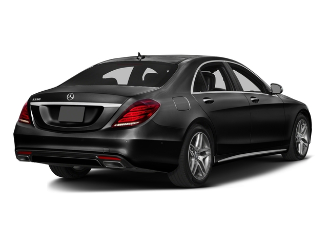 Obsidian Black Metallic 2016 Mercedes-Benz S-Class Pictures S-Class Sedan 4D S550 AWD V8 Turbo photos rear view