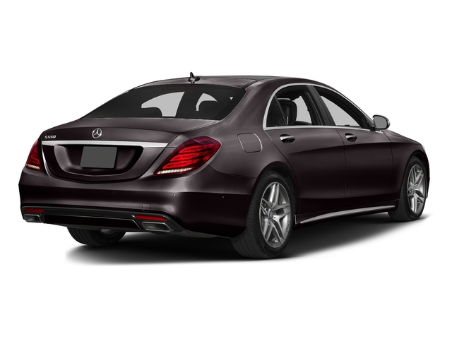 Ruby Black Metallic 2016 Mercedes-Benz S-Class Pictures S-Class Sedan 4D S550 AWD V8 Turbo photos rear view