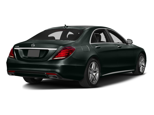 Emerald Green Metallic 2016 Mercedes-Benz S-Class Pictures S-Class Sedan 4D S550 AWD V8 Turbo photos rear view