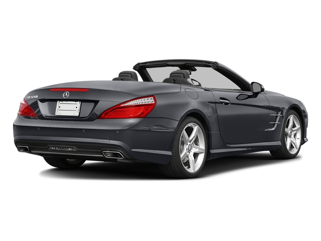 Shadow Gray Matte 2016 Mercedes-Benz SL Pictures SL Roadster 2D SL550 V8 Turbo photos rear view