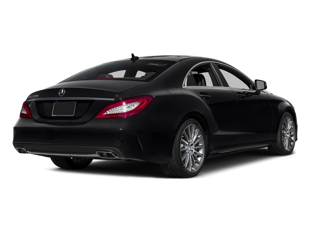 Black 2016 Mercedes-Benz CLS Pictures CLS Sedan 4D CLS550 V8 Turbo photos rear view
