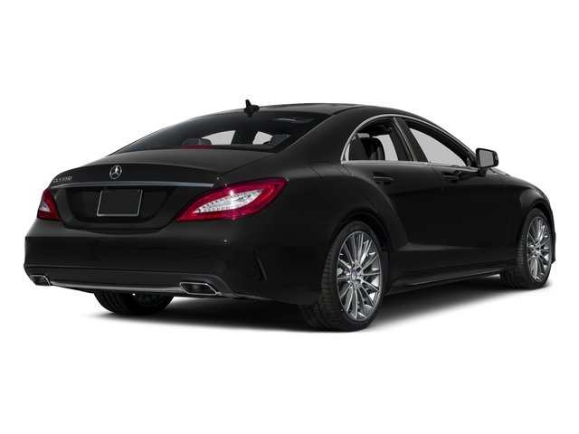 Obsidian Black Metallic 2016 Mercedes-Benz CLS Pictures CLS Sedan 4D CLS550 V8 Turbo photos rear view